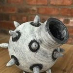 michelle legg, hand coiled ceramics, zulu lulu art house, south african ceramics